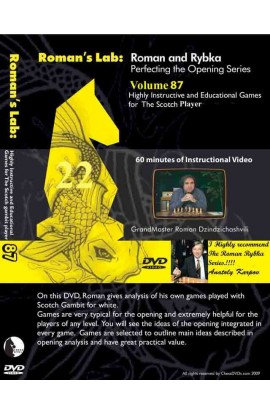 ROMAN'S LAB - VOLUME 87 - Highly Instructive and Educational Games for the Scotch Player