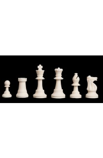 """Regulation Silicone Tournament Chess Pieces - 3.75"""" King"""