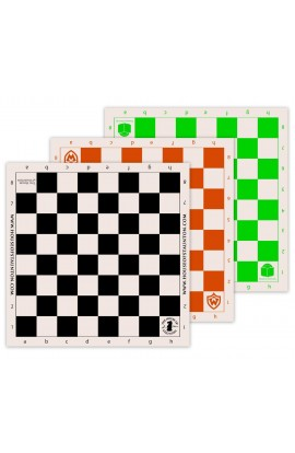 Custom Printed Silk Screened Vinyl Chess Board