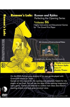 E-DVD ROMAN'S LAB - VOLUME 86 - Highly Instructive and Educational Games for the Grand Prix Player