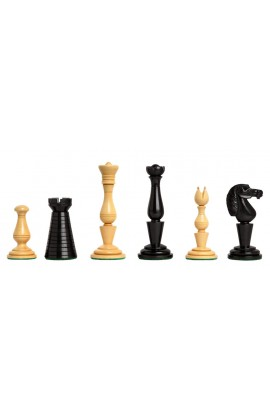 "The Strand Series Timeless Chess Pieces - 4.4"" King - Natural Boxwood"