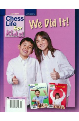 CLEARANCE - Chess Life For Kids Magazine - April 2014