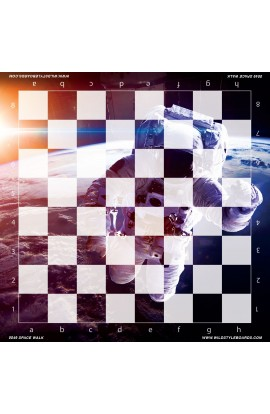 Space Walk - Full Color Vinyl Chess Board