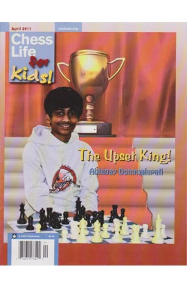 CLEARANCE - Chess Life For Kids Magazine - April 2011 Issue