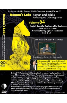 E-DVD ROMAN'S LAB - VOLUME 84 - Rybka's Quest for Replacing the Ruy Lopez
