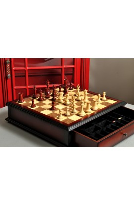 The Collector Series Library Chess Set and Board Combination
