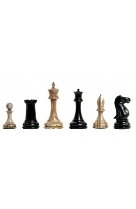 """The 2018 Exotique Collection® - Collector Series Luxury Chess Pieces - 4.4"""" King - With Genuine Ebony"""
