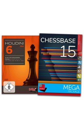 Houdini 6 Pro and ChessBase 15 MEGA - Bundle