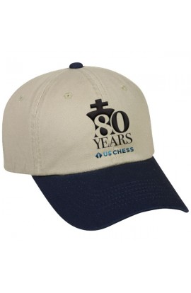 PRE-ORDER - 80th Anniversary US Chess Federation Baseball Hat