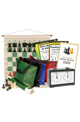 Scholastic Chess Club Starter Kit - For 10 Members - With Quartz Chess Clocks