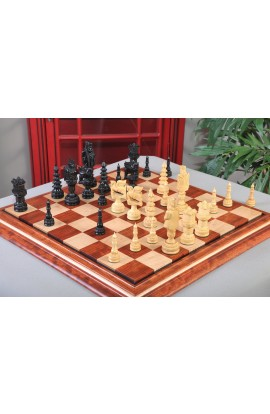 "The Santa Series Chess Pieces - 5.7"" King - Genuine Ebony"