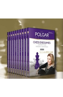 E-DVD - MASTER METHOD - The Polgar Method - GM Susan Polgar - Over 15 hours of Content!
