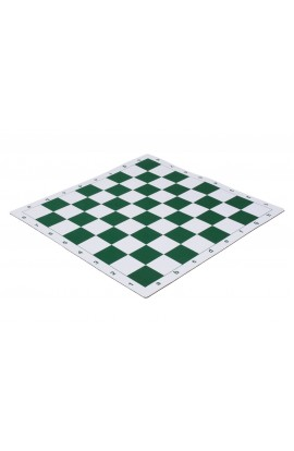 "Soft - Mouse Pad Style - Tournament Chess Board - 2.25"" Squares"