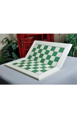 Bird's Eye Maple and Greenwood Folding Standard Traditional Chess Board