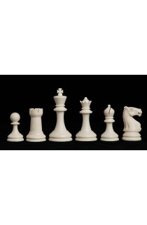 "The Zurich Series Plastic Chess Pieces - 3.875"" King"