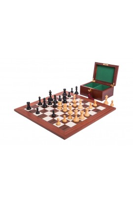 The Dubrovnik Chess Set, Box, & Board Combination