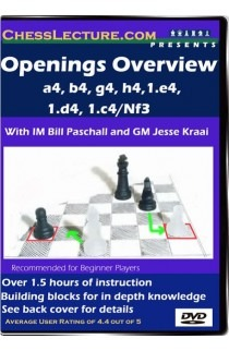 Openings Overview - a4,b4,g4,h4,1.e4, 1.d4, 1.c4/Nf3 - Chess Lecture - Volume 13