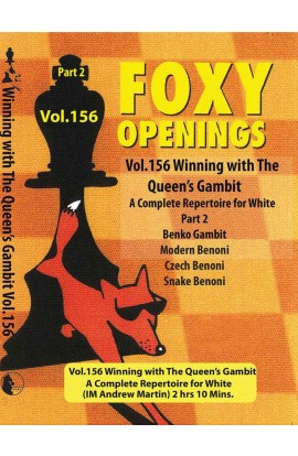E-DVD FOXY OPENINGS - VOLUME 156 - Winning with the Queen's Gambit - Disk 2