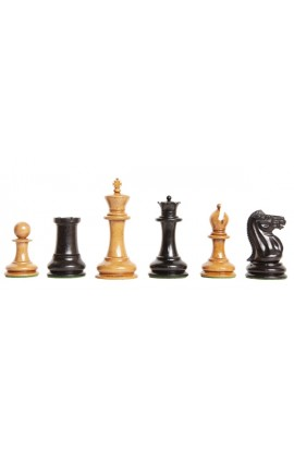 "The Genuine Staunton Collection - The Original 1849 Series Vintage Luxury Chess Pieces - 4.4"" King"