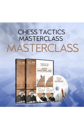 E-DVD - MASTERCLASS - Damian Lemos' Tactics Chess Masterclass – GM Damian Lemos - Over 9 hours of Content! - Volume 4