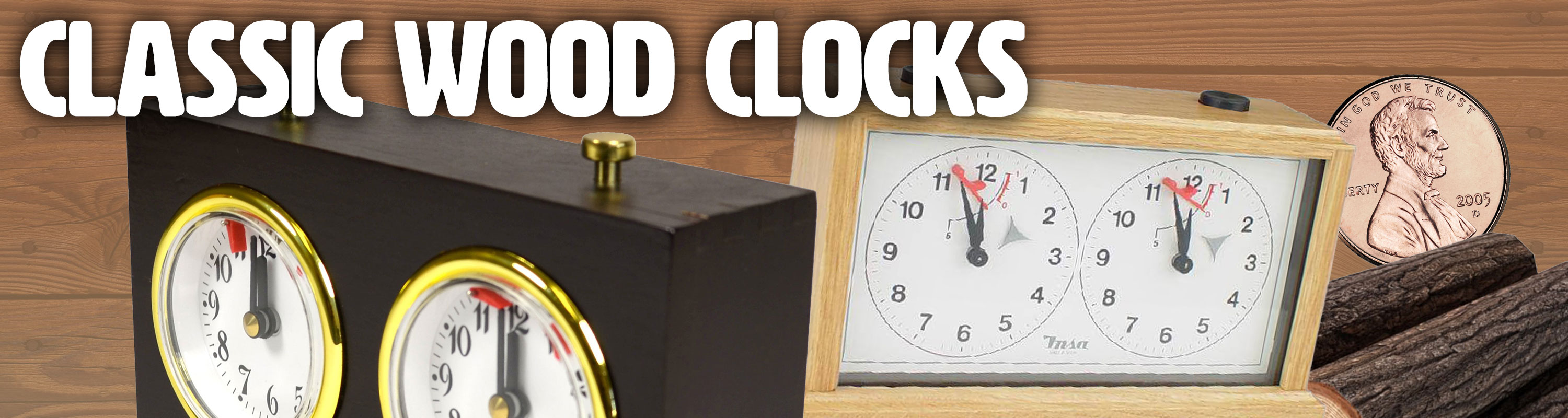 Classic Wood Clocks