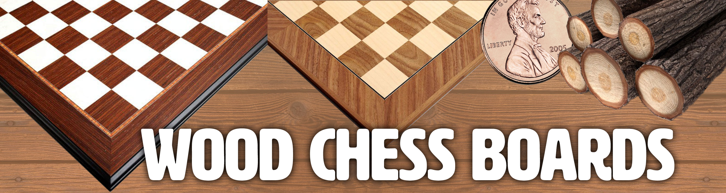Save 10% on Wood Chess Boards