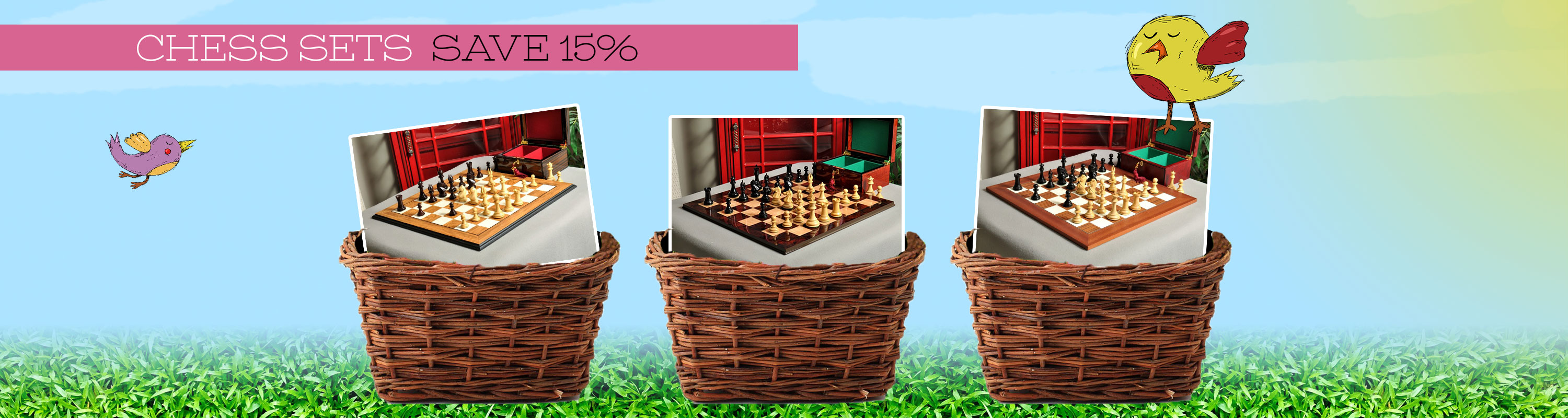 Chess Sets 15% Off