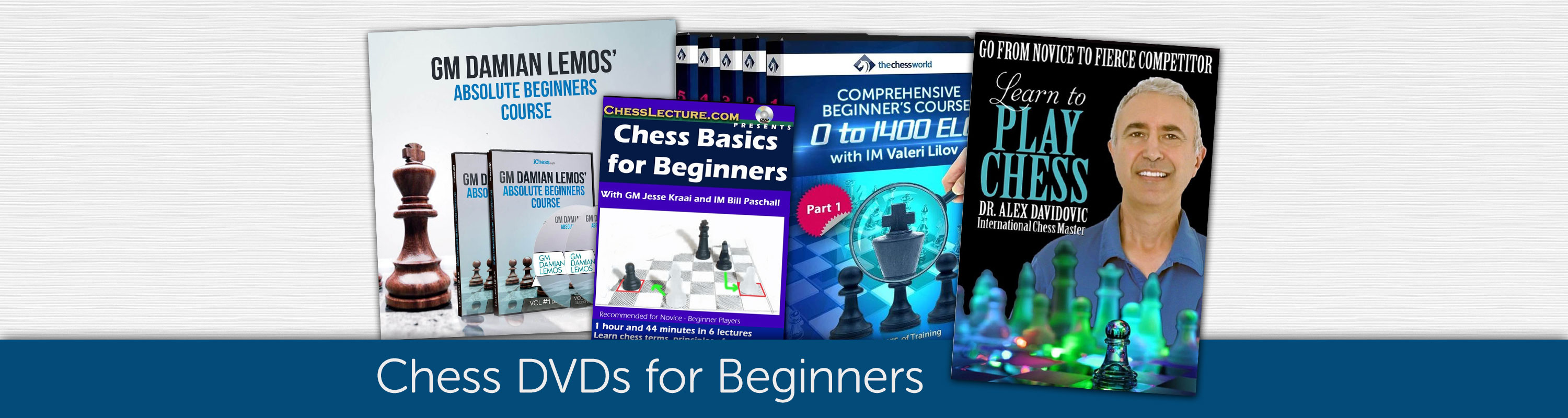 Chess DVDs for Beginners
