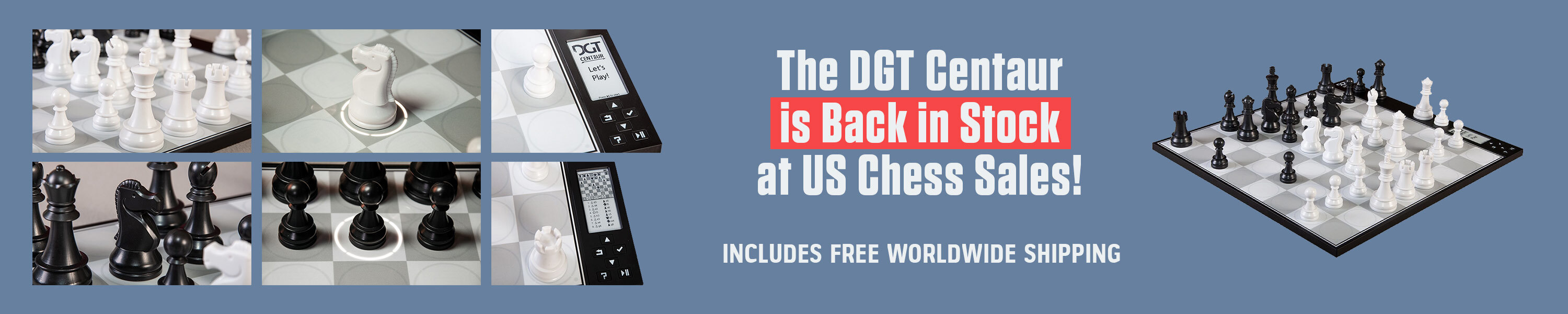 The DGT Centaur is Back in Stock