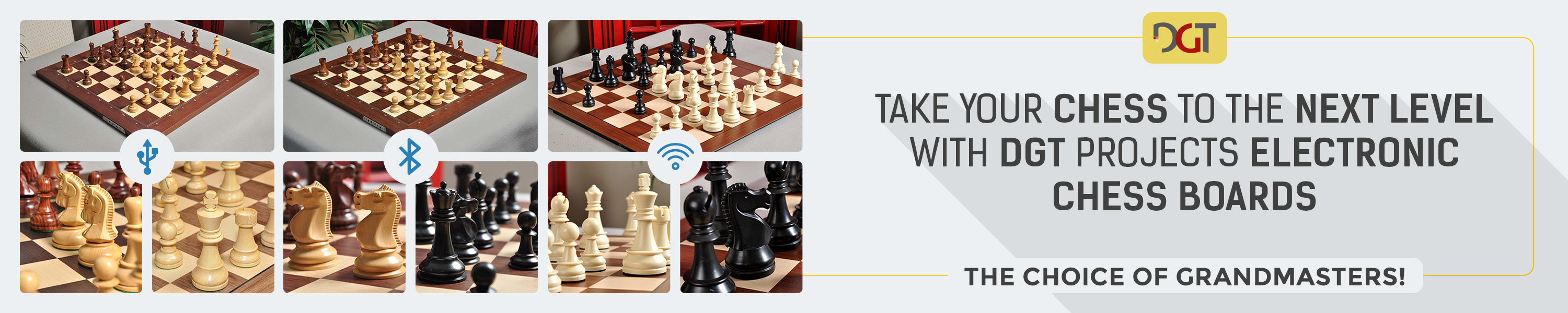 DGT Projects Electronic Chess Boards